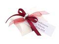 10x Gastgeschenk Fisch mit Namen Bedruckt Rot Bordeaux Personalisiert Taufe Kommunion Konfirmation 6