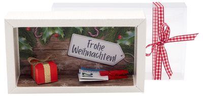Geldgeschenk Verpackung Weihnachten Geschenk Rot