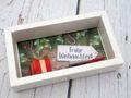 Geldgeschenk Verpackung Weihnachten Geschenk Rot Gutschein Schachtel 3