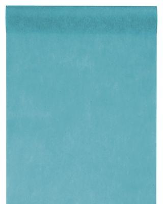 10m Tischläufer Vlies Petrol Türkis Blau