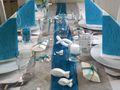 Tischdeko Kommunion Konfirmation Petrol Blau Grau Weiß Fisch SET 20 Personen 3