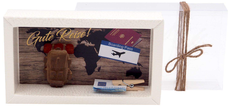 Geldgeschenk Verpackung Geldverpackung Reise Work and Travel Backpacking Urlaub Weltreise AuPair