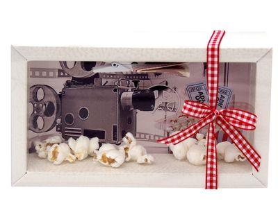 Geldgeschenk Verpackung Geldverpackung Kino Popcorn