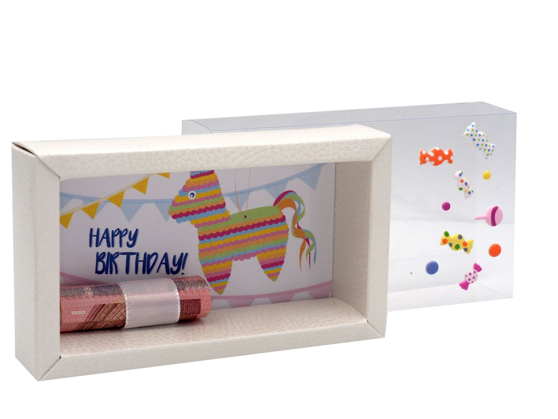 Geldgeschenk Verpackung Geburtstag Piñata Party Happy Birthday Pinata Geschenk