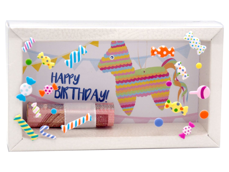 Geldgeschenk Verpackung Geburtstag Pinata Party Geldgeschenke