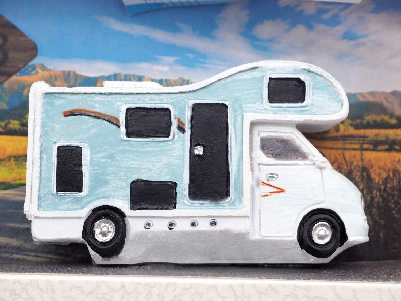 Geldgeschenk Verpackung Geldverpackung Wohnmobil Camping Reisegutschein Urlaub Reise