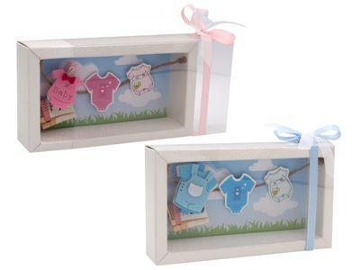 Geldgeschenk Verpackung Baby Strampler Rosa Blau Geburt Taufe