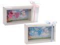 Geldgeschenk Verpackung Baby Strampler Rosa Blau Geburt Junge Mädchen Taufe Gutschein 1