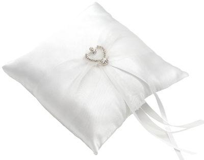 Ringkissen Weiß Hochzeit