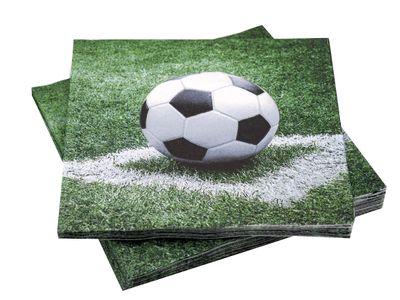 Servietten Fußball Mann Kindergeburtstag