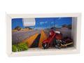 Geldgeschenk Verpackung Geldverpackung Motorrad Route 66 Highway Motorradurlaub USA Reise 2