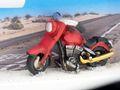 Geldgeschenk Verpackung Geldverpackung Motorrad Route 66 Highway Motorradurlaub USA Reise 6