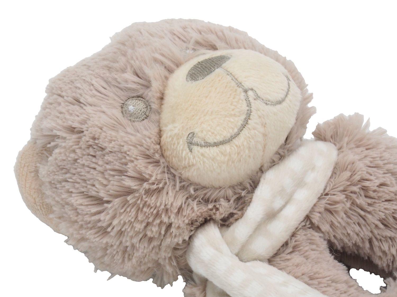 Greifring mit Rassel Baby Tier Kuscheltier Bär