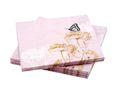 Servietten Vintage Butterfly Schmetterling Rosa Motiv Tischdeko Partydeko Frühling  1