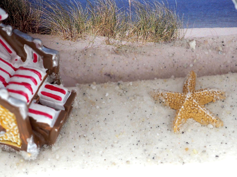 Geldgeschenk Verpackung Nordsee Ostsee Geldverpackung Urlaub Reise Strandkorb