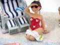 Geldgeschenk Verpackung Geldverpackung Nordsee Ostsee Sonnenschirm Strandkorb Urlaub Reise  6