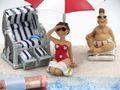 Geldgeschenk Verpackung Geldverpackung Nordsee Ostsee Sonnenschirm Strandkorb Urlaub Reise  4