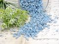 500g Streudeko Granulat Blau Hellblau Tischdeko Kommunion Konfirmation Taufe 3
