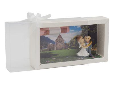Geldgeschenk Verpackung Hochzeit Kirche Trauung Gutschein Geschenk Flitterwochen