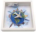 Geldgeschenk Verpackung Reise Urlaub Weltreise Flugzeug Geldverpackung Gutschein Around The World 4