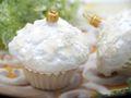 2x Muffins Cup Cakes Glas Christbaumanhänger Weihnachten Baumanhänger Weihnachtskugel Deko Bäckerei 4