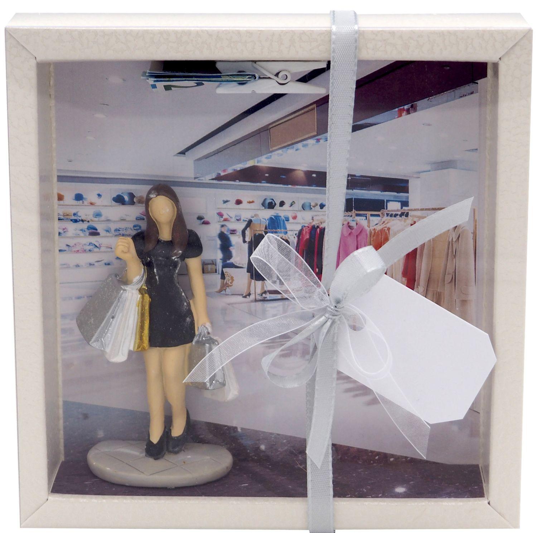 Geldgeschenk Verpackung Shopping Einkaufen Einkaufsgutschein Frau Geburtstag Weihnachten