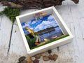 Geldgeschenk Verpackung Angler Quadrat Hobby Fischen Gutschein Angelzubehör Geschenkidee Geburtstag  2