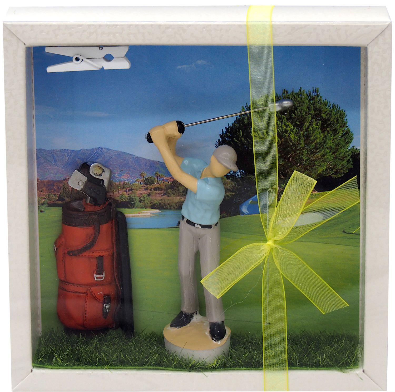 Geldgeschenk Verpackung Golf Mann Gutschein Golfzubehör Hobby Geschenkidee Geburtstag Weihnachten