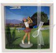 Geldgeschenk Verpackung Golf Frau Gutschein Golfzubehör Hobby Geschenkidee Geburtstag Weihnachten 1