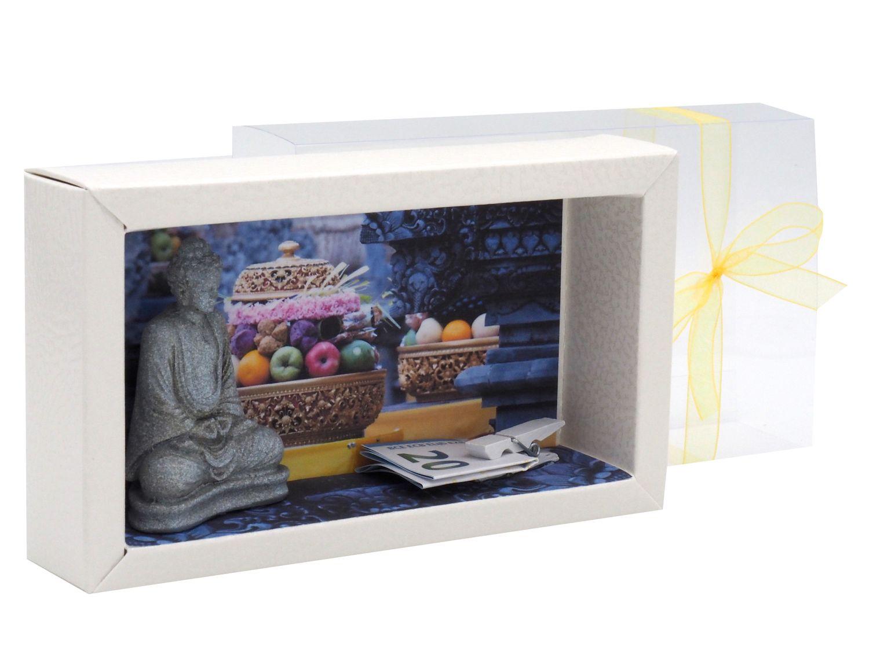 Geldgeschenk Verpackung Urlaub Reise Thailand Indonesien Geldverpackung Buddha