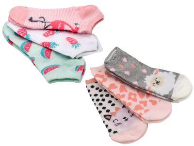 3 Paar Socken Kinder Sneaker Motivsocken Bunt