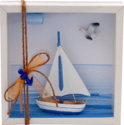 Geldgeschenk Verpackung Segelboot Segeln
