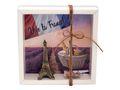 Geldgeschenk Verpackung Frankreich Paris Urlaub Reise Eiffelturm Gutschein 2