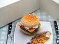 Geldgeschenk Verpackung Hamburger Essen Gutschein Geschenkgutschein Restaurant Gutschein Dinner-Geschenk 7