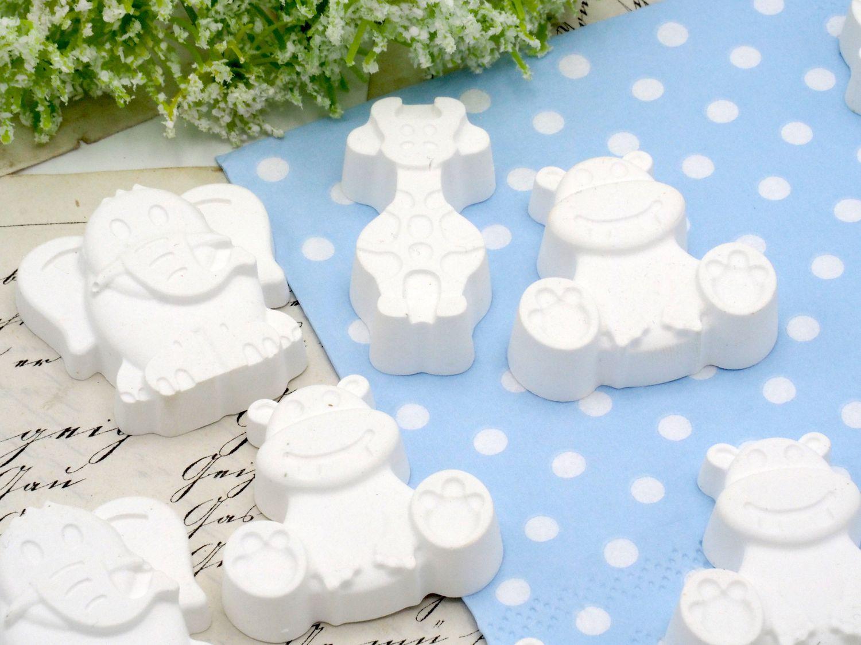 Streudeko Tiere Tischdeko Taufe Geburt Baby Party Weiss Stewalin Mädchen