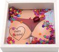 Geldgeschenk Verpackung für Männer Geburtstag Mann Happy Birthday Konfetti Geschenk Party 2
