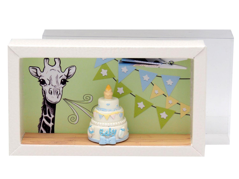 Geldgeschenk Verpackung Junge Baby Geburt Taufe Giraffe Torte Geschenk