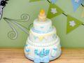 Geldgeschenk Verpackung Junge Baby Geburt Taufe Giraffe Torte Geschenk 6
