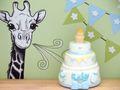 Geldgeschenk Verpackung Junge Baby Geburt Taufe Giraffe Torte Geschenk 5