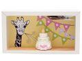 Geldgeschenk Verpackung Mädchen Baby Geburt Taufe Giraffe Torte Geschenk 4