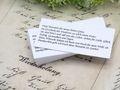 50 Kärtchen Mandelspruch Gastgeschenke Kommunion Konfirmation Taufe Mandeln 2