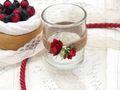 2x Teelichtglas Hochzeit Vintage Rosen Rot Tischdeko Kerzenglas JILL 2