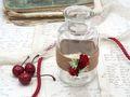 2 Vasen Hochzeit Vintage Tischdeko Deko Gläser Rot Rosen JILL 2