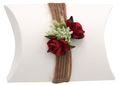 Gastgeschenk Schachtel Rot Rose Hochzeit JILL 001