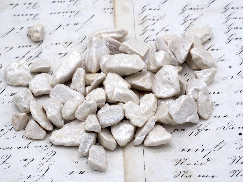 500g Streudeko Steine Granulat Creme Perlmutt Tischdeko Taufe Kommunion Hochzeit