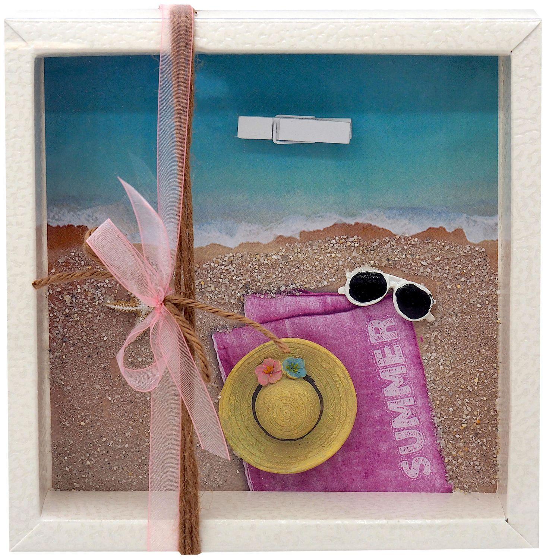 Geldgeschenk Verpackung Reise Urlaub Strohhut Sonnenbrille Frau Strand Meer Strandurlaub Geburtstag