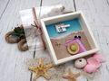 Geldgeschenk Verpackung Reise Urlaub Strohhut Sonnenbrille Frau Strand Meer Strandurlaub Geburtstag 3