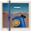 Geldgeschenk Verpackung Reise Urlaub Strohhut Sonnenbrille Mann Strand Meer Strandurlaub Geburtstag 1