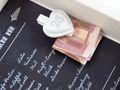 Geldgeschenk Verpackung Silberhochzeit Gutschein Geschenk Hochzeitsgeschenk Rezept 25 Jahre Ehe 3