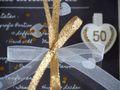 Geldgeschenk Verpackung Goldhochzeit Gutschein Geschenk Goldene Hochzeit Rezept für 50 Jahre Ehe 4